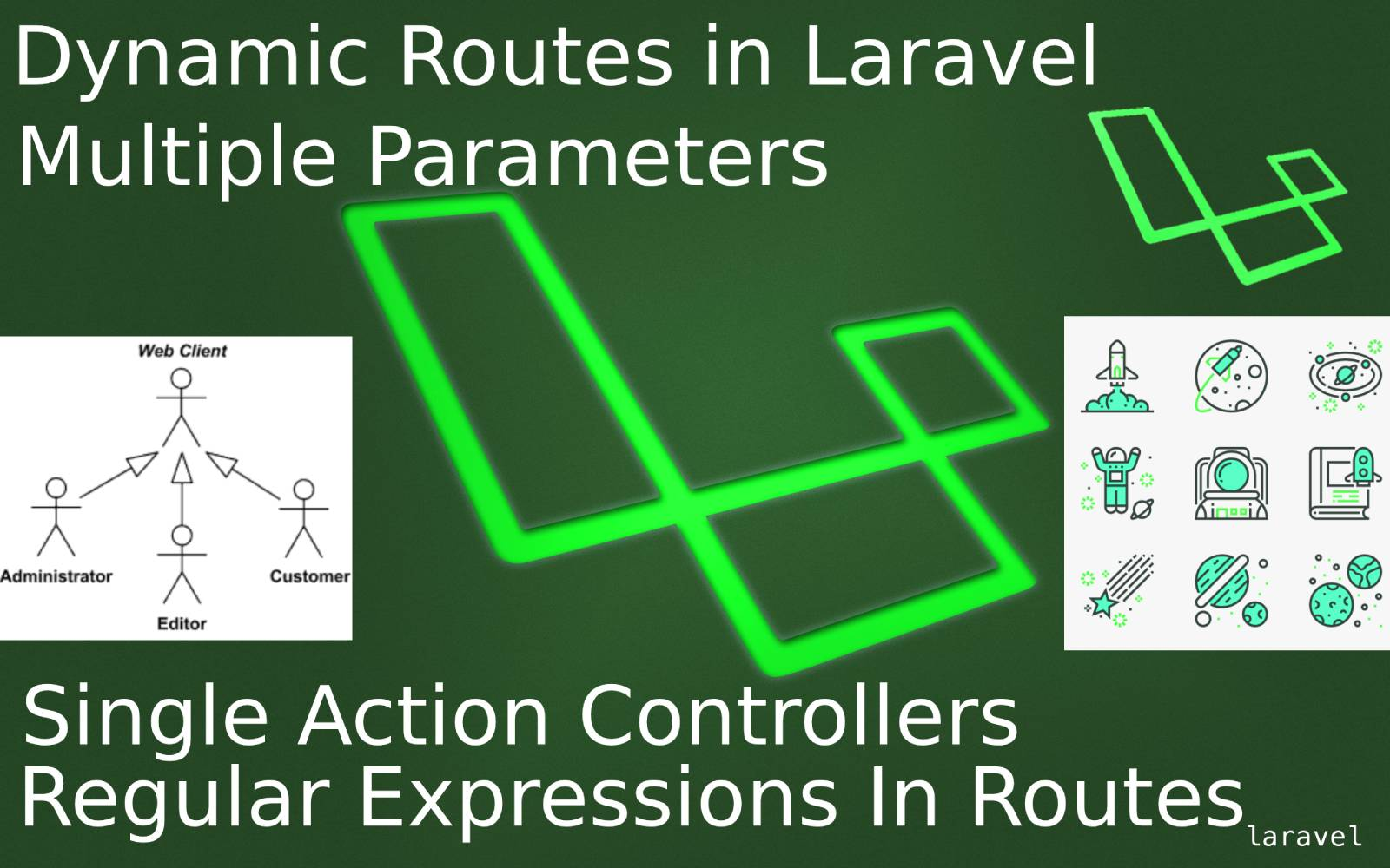 How to create multiple parameters dynamic routes in laravel?