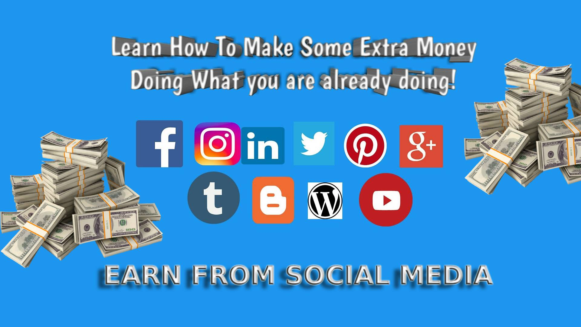 Earn From Social Media Online