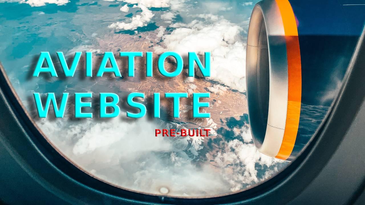 Buy Aviation Website