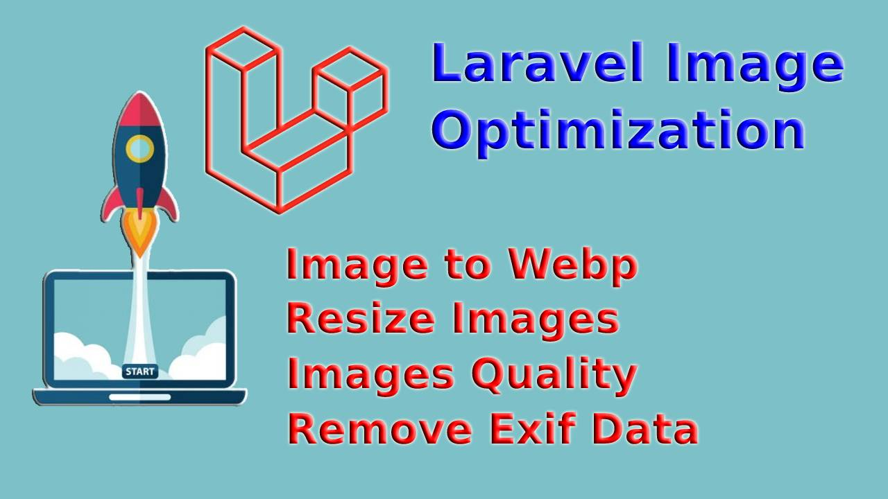 How to optimize images in Laravel?