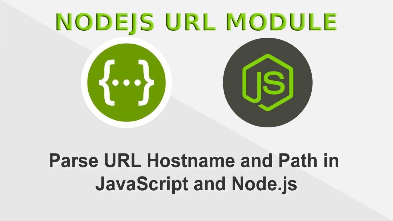 How to create URL in NodeJS?