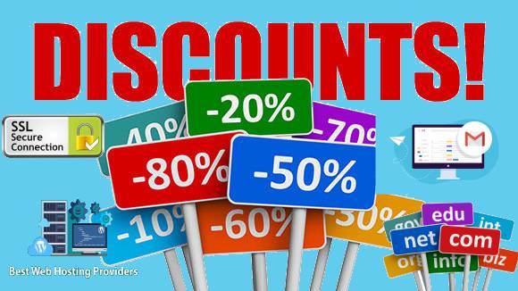 Discount Coupons for hosting