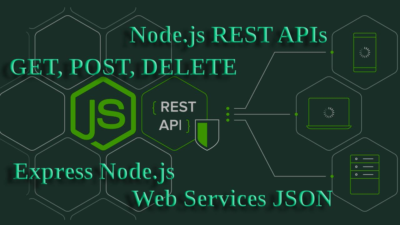 How to create REST API in Nodejs?