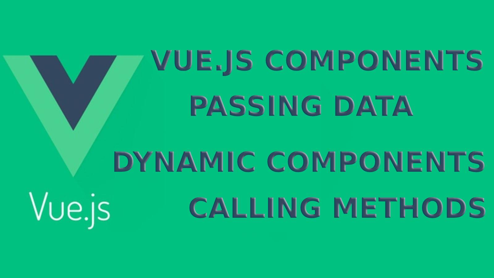 How to create components in vue.js