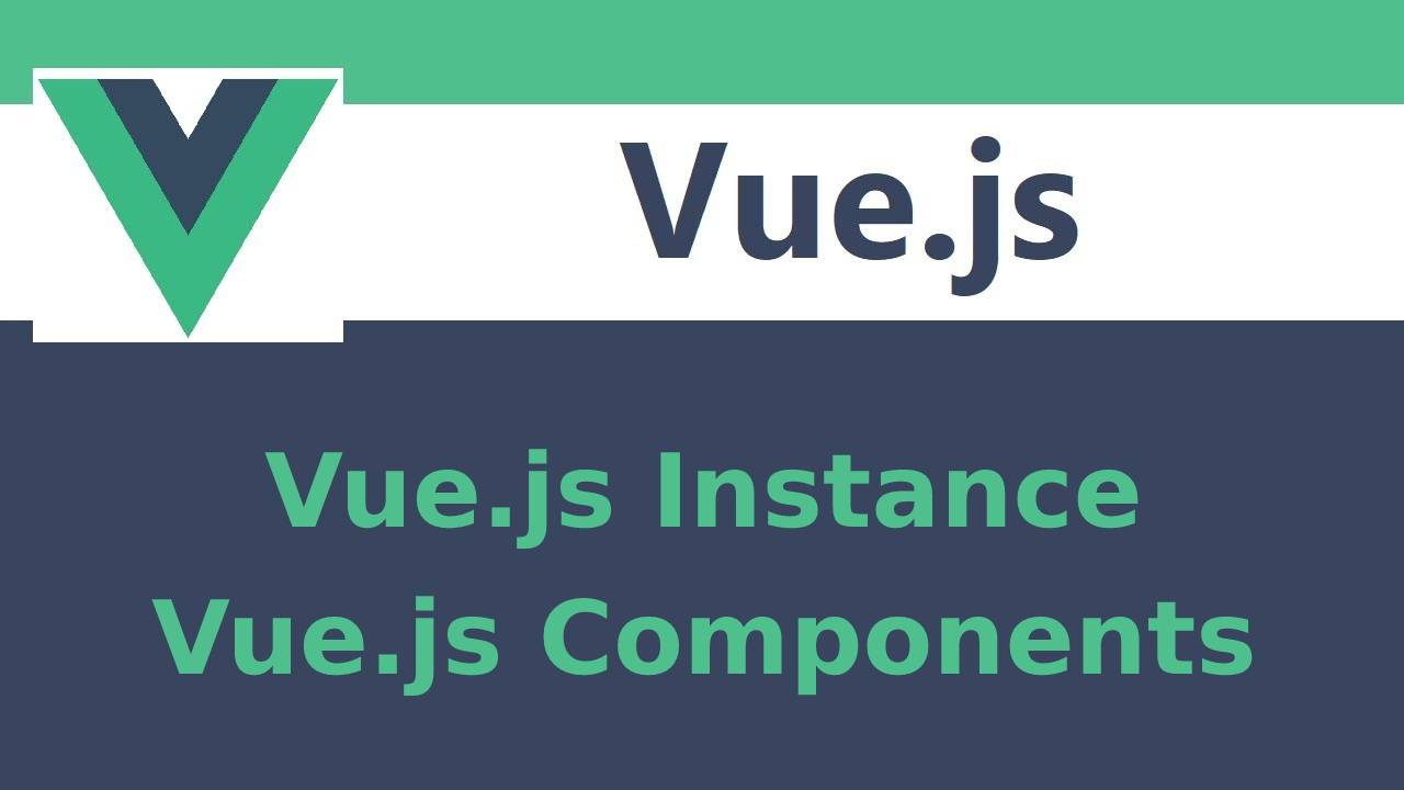 How to create instances in Vue.js